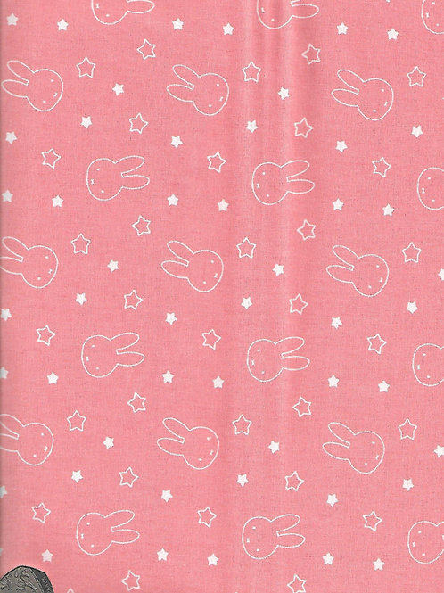 Miffy Heads on Coral A0434