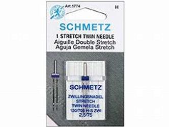 Schmetz Stretch Twin Needle 2,5/75