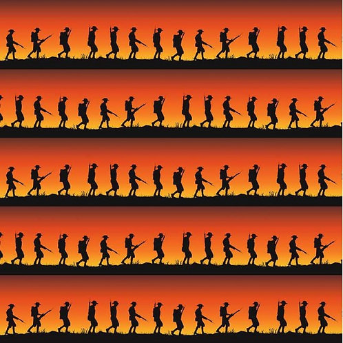 Marching Soldiers Sunrise A0271 Nutex 78670 104