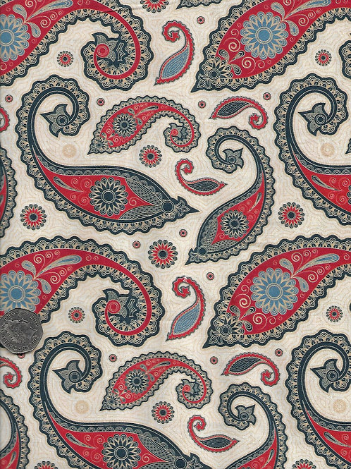 Paisley on Beige Nutex 40010 102 A0299