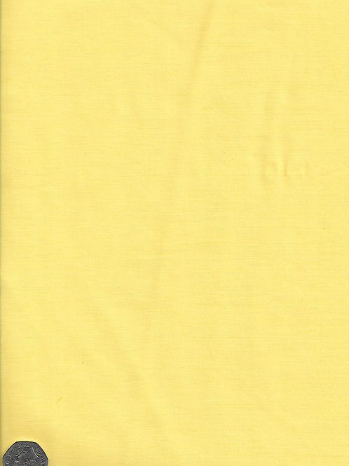 Pale Yellow Cotton A0564
