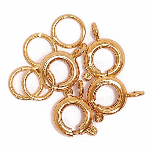 Bolt Clasp & Ring Gold CF01/61002