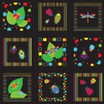 Bugs & Critters Squares Nutex 89610 105 A0468