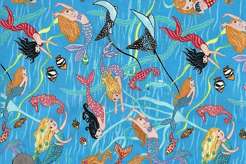 Mermaids Swimming Nutex 89870 101 A0431