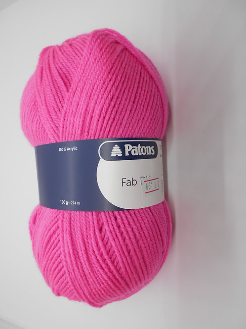 Patons Fab DK col 02316 Candy 100g