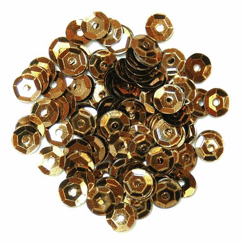 5mm Cup Sequins Bronze CF01/40534 5g