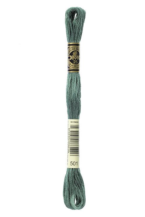 DMC Stranded Embroidery Floss Col 501