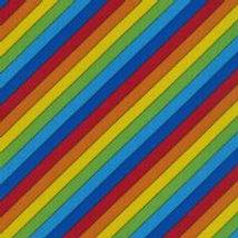 Rainbow Stripe Nutex 80520 101 A0365