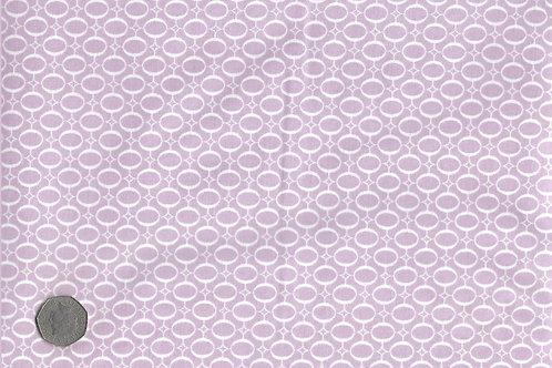Mauve with White Ovals A0143