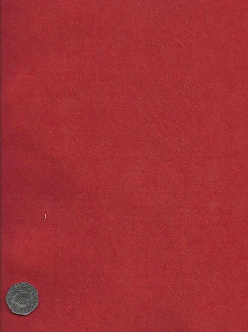 Red Felt H0033