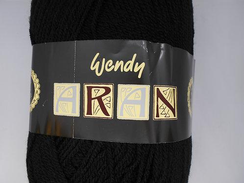 Wendy Aran with Wool col 0468 Black Diamond 400g