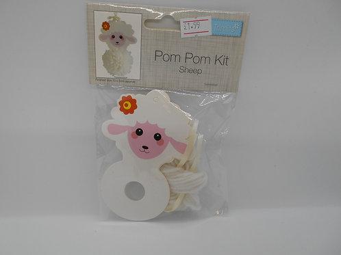 Sheep Pompom Kit Trimits