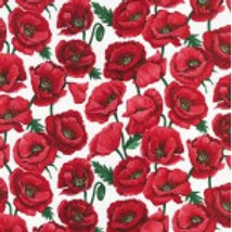 Poppies - Blossom White Nutex 80060 101 A0009
