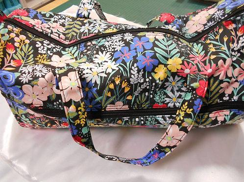 Knitting/Crochet Bag 'Flowers'