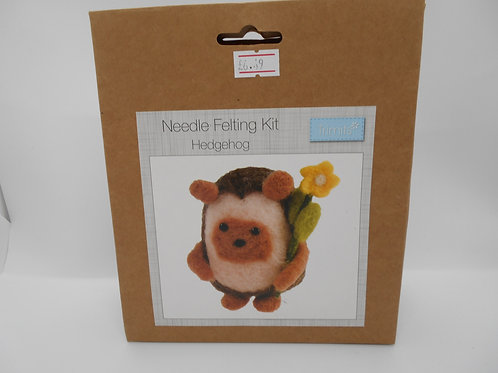 Needle Felt Kit Hedgehog K0025 Trimits
