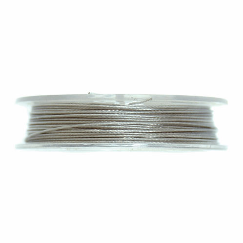 Steel Wire Silver 5m x 0.45mm CF01/55201