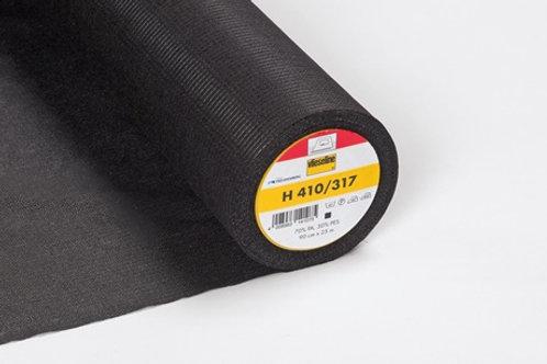 H410/317 Fusible Interlining Black