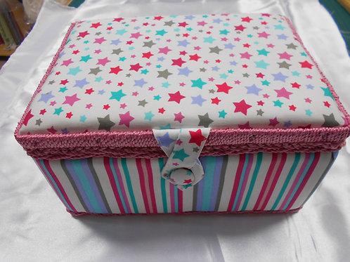 'Stars & Stripes' Sewing Box