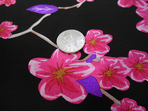 Cherry Blossom Metalic Scuba D0056