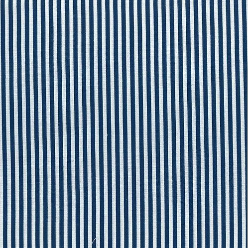 Thin Navy & White Stripe A0332 Nutex 80490 104