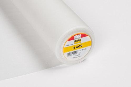 Vlieseline H609 Iron On Light Weight & Bi-Elastic Interfacing
