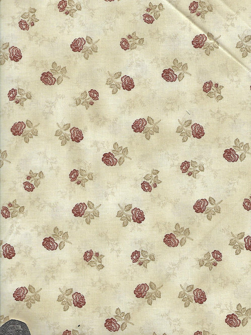 Brown Roses on Green A0626