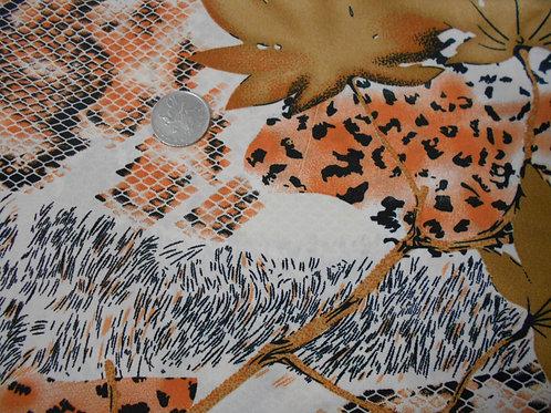 Animal Print Viscose D0005