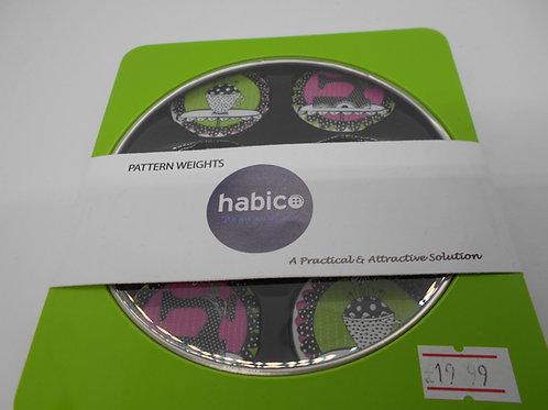 6 Pattern Weights Habico