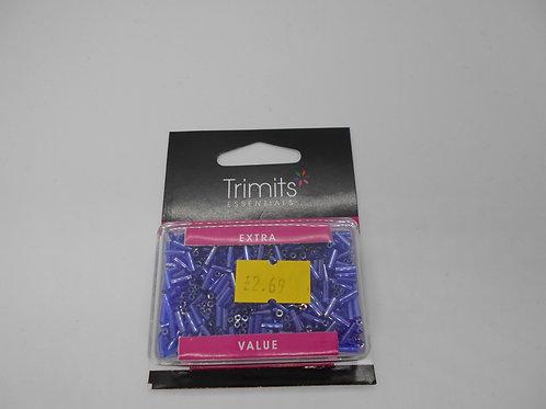 Purple Bugle Beads 30g