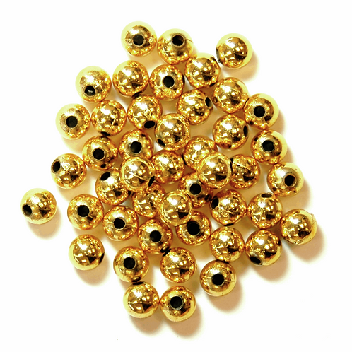 5mm Pearl Beads Gold CF01/35502