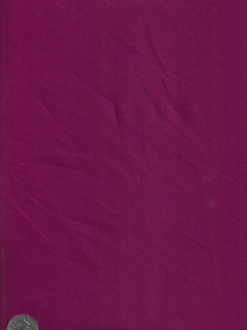 Dark Cerise Cotton A0572