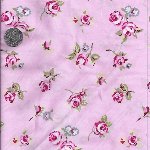 Roses on Pink A0530