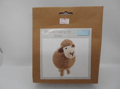 Needle Felt Kit Sheep Trimits