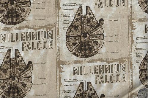 Star Wars - Millenium Falcon A0412