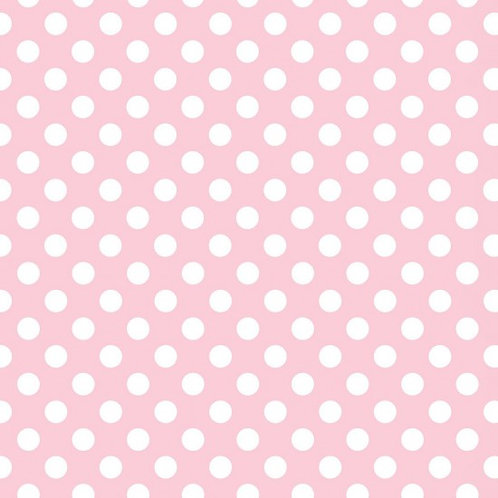 White Spots on Pink A0292 Nutex 80290 104