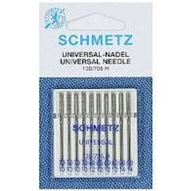 Schmetz Universal 10pk Mixed 70/10, 80/12, 90/14