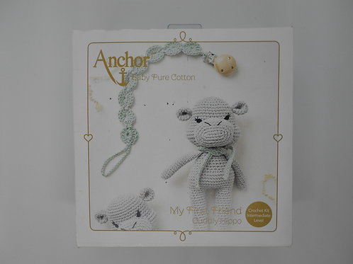 Crochet Hippo Kit K0002 Anchor