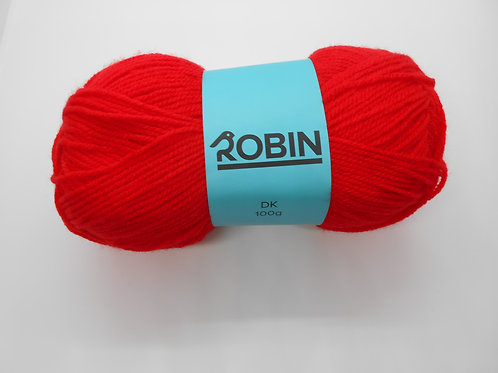 Robin DK col 42 Red 100g
