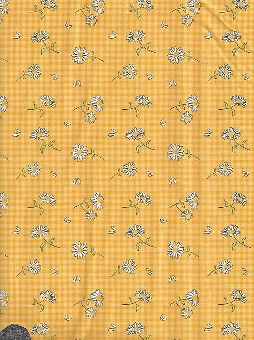 Daisies on Yellow A0627