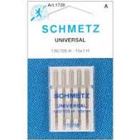Schmetz Universal 5pk  110/18