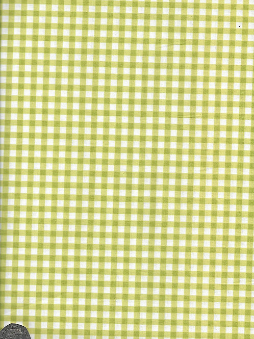 Green & White Check A0631