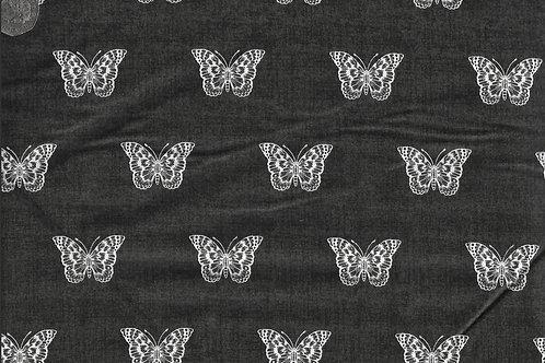 Botanica - Butterflies on Black A0649 Makower