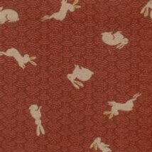 Nara - Bunnies on Red A0339 Nutex 60670 106