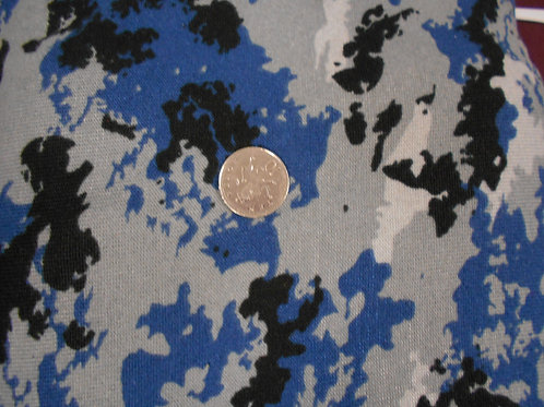 Blue & Grey Camoflage Jersey D0058