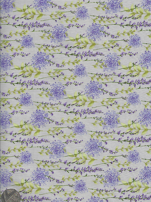 Lavender Flowers on Stone A0442 Rose & Hubble