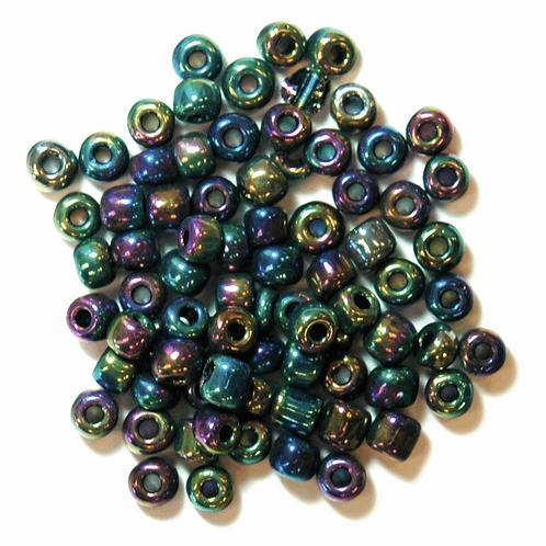 4mm E Beads Rainbow CF01/30036 15g