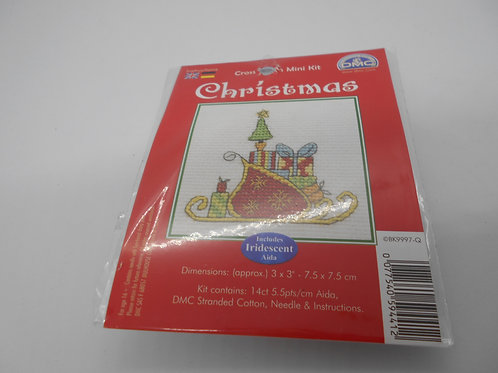 Mini Cross Stitch - Santa's Sleigh
