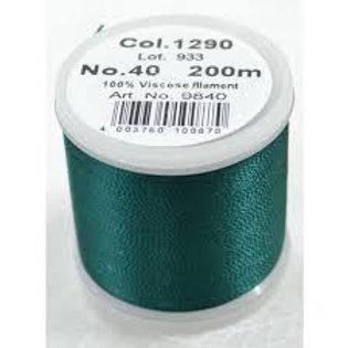 Madeira 1290 Rayon Machine Embroidery Thread