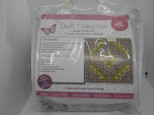 Changing Seasons Quilt Kit - The Craft Cotton Co.