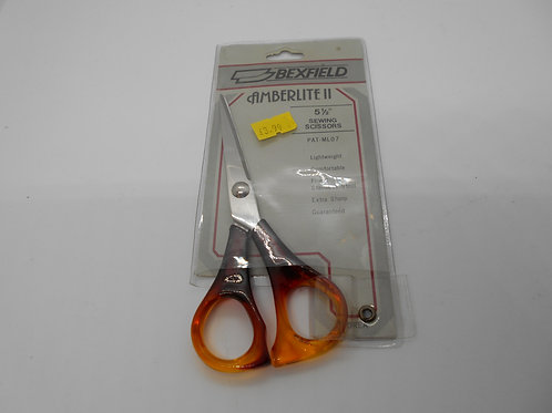 "5.5"" Sewing Scissors H0016 Amberlite II by Bexfield"
